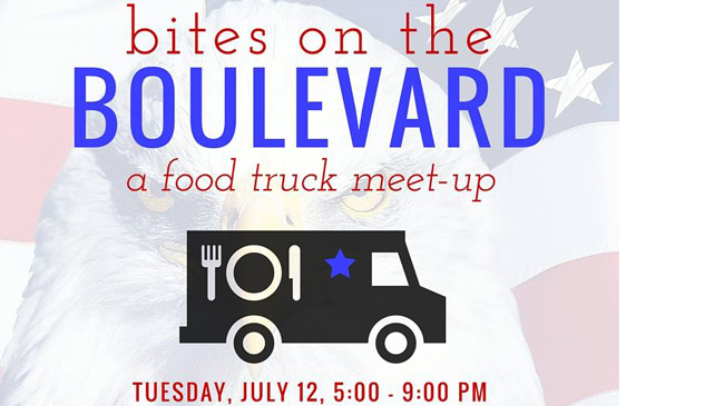 Bites on the Boulevard, July 12, 5-9 pm