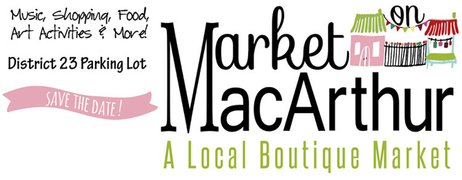 "Market on MacArthur, ""Pop Up Shops"", Saturday, June 20th at the Parking Lot at District 23 - 1413 South MacArthur Blvd, Springfield, Illinois 62704."