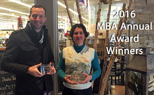 2016 MBA Annual Award Winners