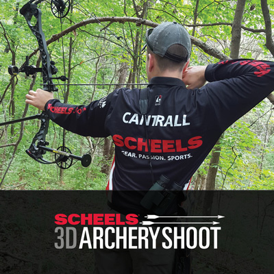 SCHEELS 3D Archery Shoot, Saturday, August 17th, 2019.