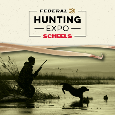 Join us for our 9th Annual SCHEELS Hunting Expo sponsored by Federal Ammunition on Friday, August 16th - Sunday, August 18th, 2019.