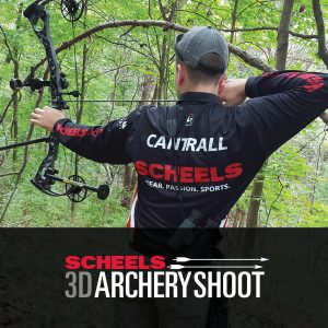 Join SCHEELS & Panther Creek Bowhunters for our annual 3D Shoot on June 9, 2019.