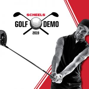 SCHEELS Golf Demo Day on Saturday, April 27, 2019 at Knights Action Park.