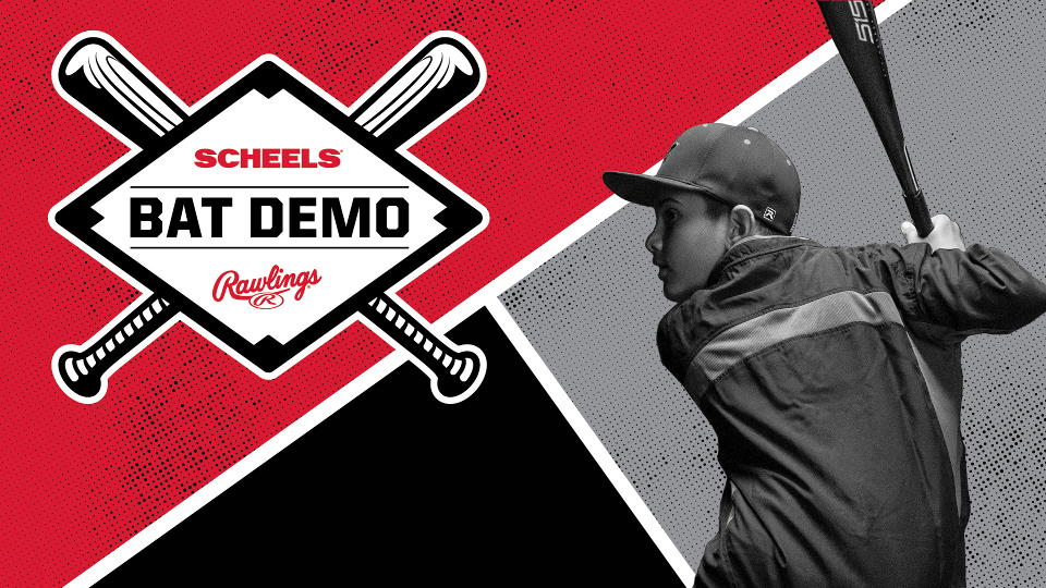 SCHEELS Bat Demo Day on Saturday, February 8, 2020